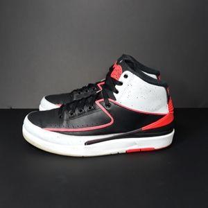 Nike Air Jordan 2 Black Infrared 23 Sz 10